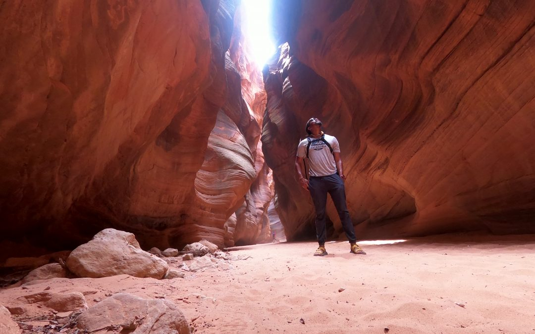 KANAB UTAH: Exploring Buckskin Gulch via Wire Pass, Hidden Wave formations and Kodachrome Basin.